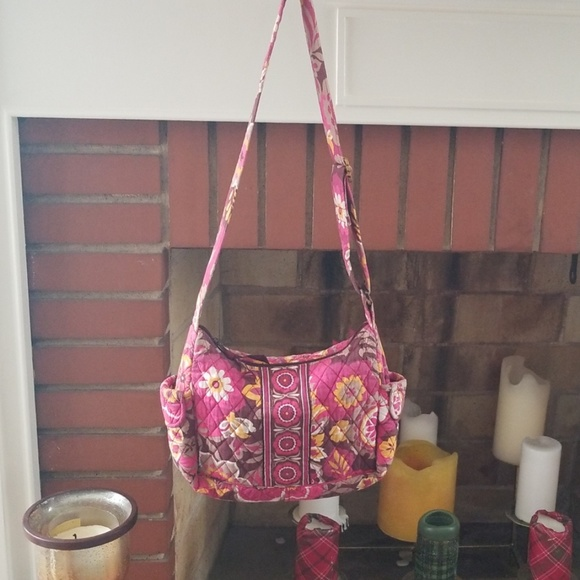Vera Bradley Handbags - VERA BRADLEY FLORAL CROSSBODY